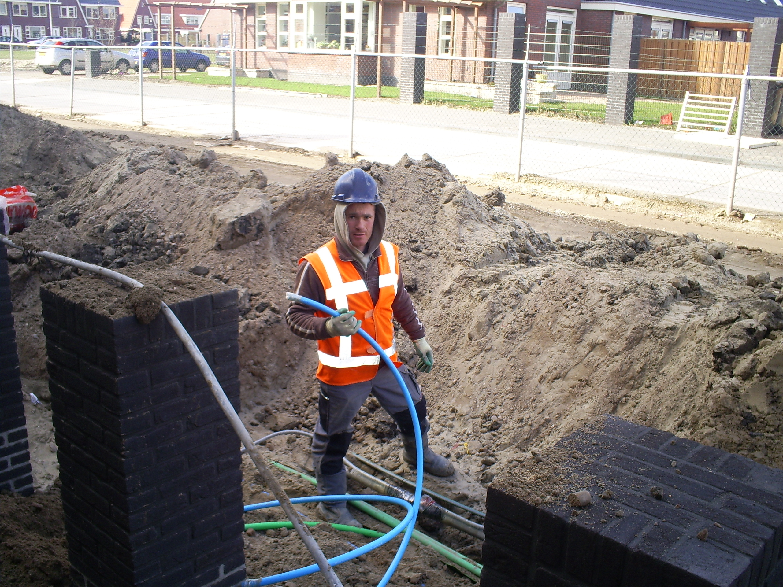 Kabelwerken in Amstelveen in opdracht van Jos van der Lubbe (2008)